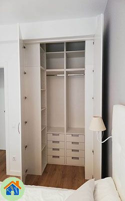 Diseño armario Villaverde