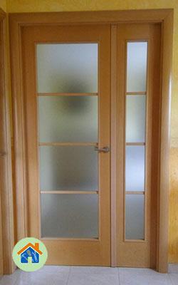 Puerta vidriera Pinto